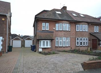 Thumbnail 4 bed semi-detached house to rent in Cissbury Ring South, Woodside Park, London