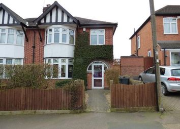 Thumbnail 4 bedroom semi-detached house for sale in Curzon Avenue, Birstall, Leicester, Leicestershire