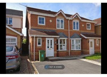 Thumbnail 3 bedroom semi-detached house to rent in Brough Field Close, Stockton-On-Tees