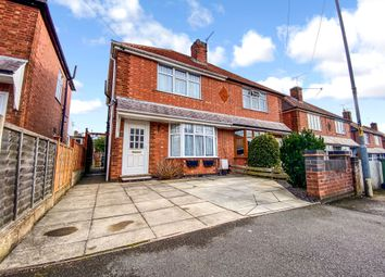 Thumbnail 2 bed semi-detached house for sale in Fairfield Road, Oadby