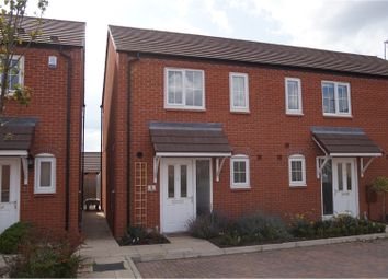 Thumbnail 2 bed end terrace house for sale in Ash Place, Bidford On Avon