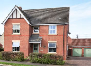 Thumbnail 4 bed detached house for sale in Tilia Way, Bourne