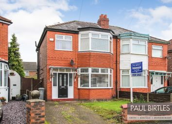 Thumbnail 3 bed semi-detached house for sale in Marlborough Road, Stretford