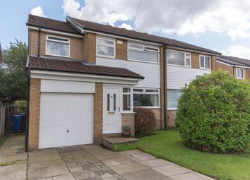 Thumbnail 4 bed semi-detached house for sale in Keighley Close, Lowercroft, Bury