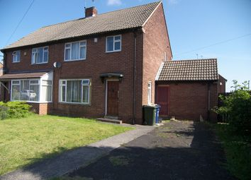 Thumbnail 3 bed semi-detached house for sale in Embleton Avenue, Gosforth, Newcastle Upon Tyne