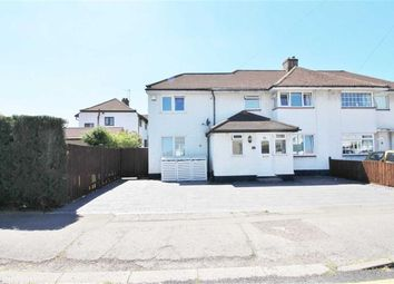 Thumbnail 4 bed semi-detached house for sale in Cardinal Avenue, Borehamwood, Herts