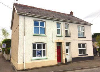 Thumbnail 3 bedroom semi-detached house for sale in Church Street, Llandybie, Ammanford