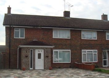 Thumbnail 4 bed end terrace house to rent in Hawkins Road, Crawley