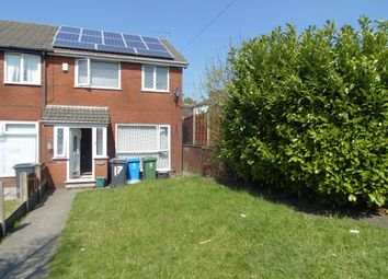 Thumbnail 3 bed end terrace house for sale in Manor Close, Chadderton, Oldham
