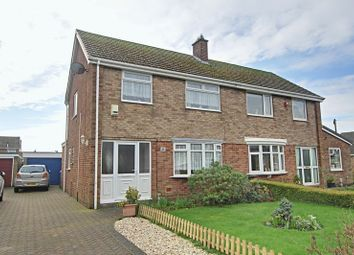 Thumbnail 3 bedroom semi-detached house for sale in Langham Road, Thorngumbald, Hull