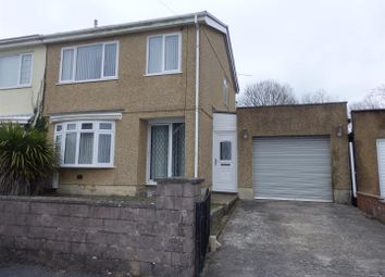 Thumbnail 3 bed semi-detached house for sale in Dythel Park, Pen -Y-Mynydd, Llanelli