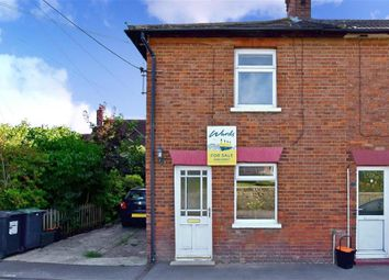 Thumbnail 2 bedroom end terrace house for sale in Addlestead Road, East Peckham, Tonbridge, Kent