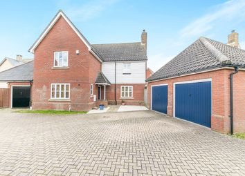 Thumbnail 4 bed detached house for sale in Bilberry Road, Ipswich