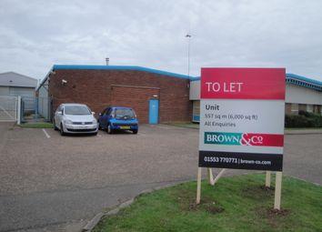 Thumbnail Warehouse to let in Hardwick Road, King's Lynn