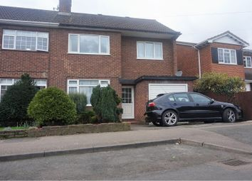 Thumbnail 4 bed semi-detached house for sale in Lordship Road, Waltham Cross