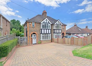 Thumbnail 3 bed semi-detached house for sale in Wivelsfield Road, Haywards Heath, West Sussex
