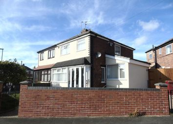 Thumbnail 3 bed semi-detached house to rent in Poplar Grove, Whiston, Prescot
