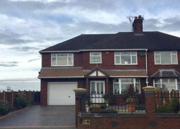 Thumbnail 4 bed semi-detached house for sale in Crewe Road, Stoke-On-Trent, Cheshire