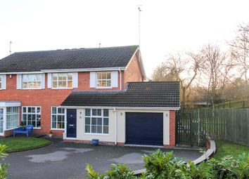 Thumbnail 3 bed semi-detached house for sale in Lyster Close, Warwick