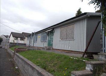 Thumbnail Land for sale in Lot 21 - Former Cadet Hut, The Park, Treharris