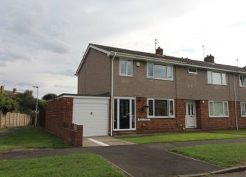Thumbnail 3 bedroom end terrace house for sale in Ogle Drive, Blyth