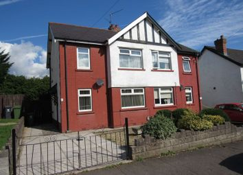 Thumbnail 3 bedroom semi-detached house for sale in Vachell Road, Ely, Cardiff