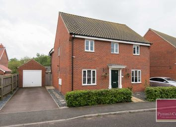 Thumbnail 4 bed detached house for sale in Stony Grove, Queens Hill, Norwich