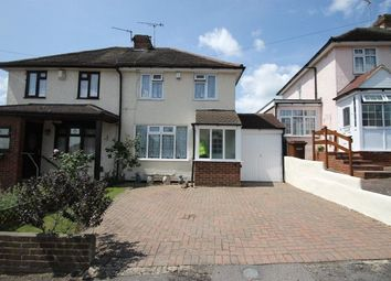 Thumbnail 2 bed semi-detached house for sale in Woodstock Road, Strood, Kent