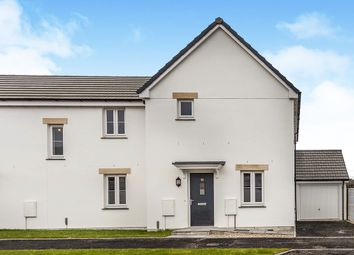 Thumbnail 3 bed semi-detached house for sale in Chivilas Road, Camborne, Cornwall