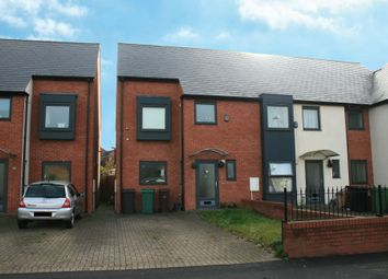 Thumbnail 3 bed end terrace house to rent in Birchwood Road, Wolverhampton