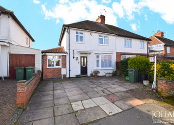 Thumbnail 4 bed semi-detached house for sale in Grosvenor Crescent, Oadby, Leicester