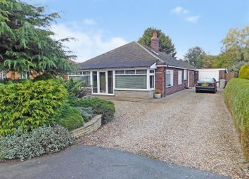 Thumbnail 3 bed detached bungalow for sale in Vicarage Lane, Wainfleet St. Mary, Skegness