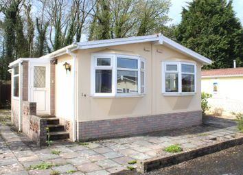 Thumbnail 2 bedroom mobile/park home for sale in Cannisland Park, Parkmill, Swansea