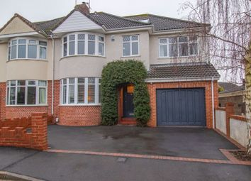 Thumbnail 5 bed semi-detached house for sale in Oakdale Court, Downend, Bristol