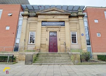 Thumbnail 2 bed flat for sale in Kingston Square, Hull