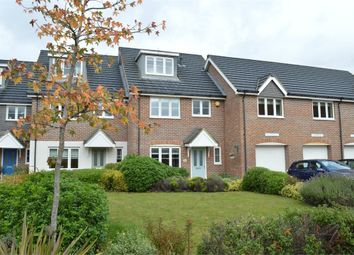 Thumbnail 4 bed terraced house to rent in Swansmere Close, Walton-On-Thames, Surrey