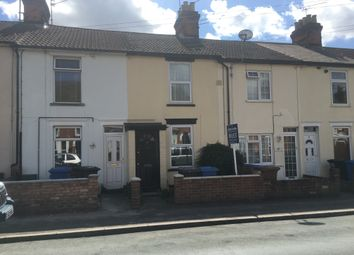Thumbnail 3 bed terraced house to rent in Richmond Road, Ipswich