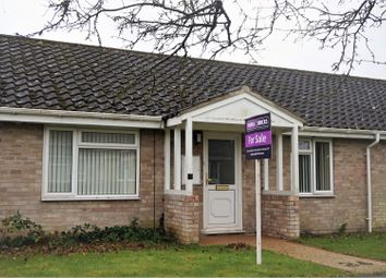 Thumbnail 2 bed bungalow for sale in Oakey Ley, Bury St. Edmunds