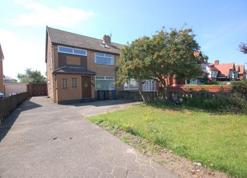 Thumbnail 4 bed semi-detached house for sale in Lytham Road, Blackpool, Lancashire