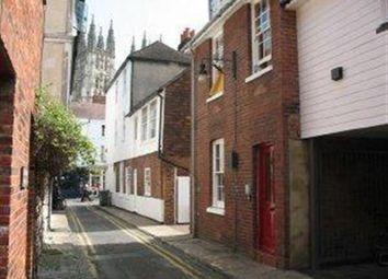 Thumbnail 1 bed flat to rent in Turnagain Lane, Canterbury