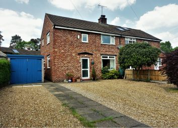 Thumbnail 3 bed semi-detached house for sale in Mere Crescent, Northwich