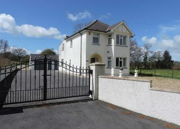 Thumbnail 4 bed detached house for sale in Llanddewi Brefi, Tregaron