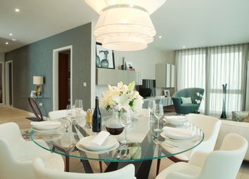 Thumbnail 3 bed flat for sale in Royal Wharf, London