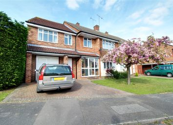 Thumbnail 4 bedroom semi-detached house for sale in Wilmington Close, Woodley, Reading, Berkshire