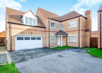 Thumbnail 5 bedroom detached house for sale in Jesse Close, Selby