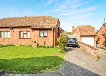 Thumbnail 2 bed semi-detached bungalow for sale in Nightingale Close, Colchester