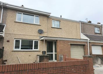 Thumbnail 3 bed terraced house for sale in Gibbons Way, North Cornelly, Bridgend