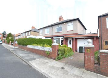 Thumbnail 3 bed semi-detached house for sale in Eastlands, High Heaton, Newcastle Upon Tyne