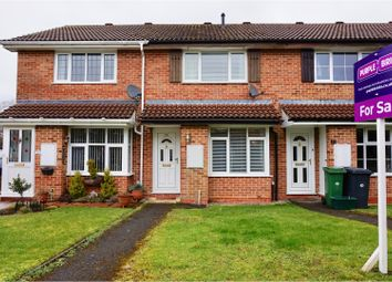 Thumbnail 2 bed terraced house for sale in Auklet Close, Basingstoke