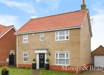 Thumbnail 4 bedroom detached house for sale in Kempshorne Close, Oulton, Lowestoft